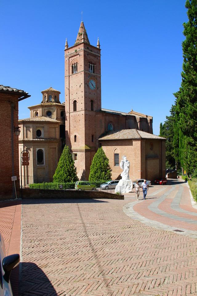 Монте Оливето Маджоре, Abbazia Monte Oliveto Maggiore, Тоскана, Tuscani, Toscana