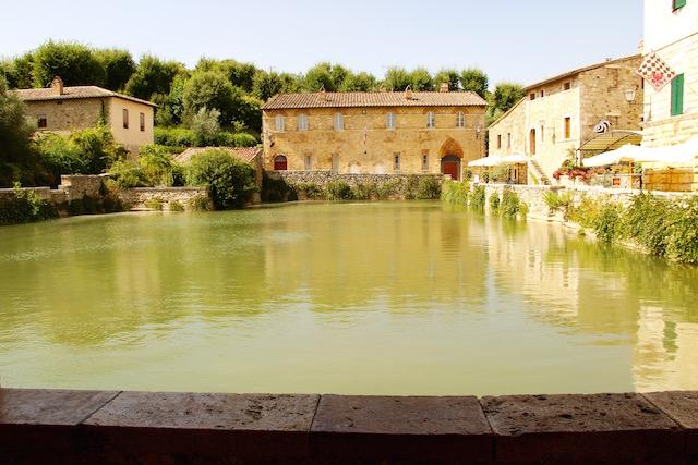 Баньо Виньони, Сан Куирико ди Орча, San Quirico d'Orcia, Тоскана, Toscana, Tuscani, путешествие по Тоскане