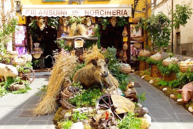 Умбрия, Норчя, Norcia, Umbria, путешествие по Италии, путешествие по Умбрии
