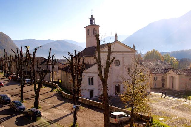 на фото церковь в Фельтре