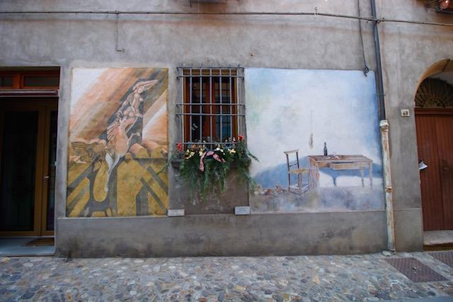 Галерея под открытым небом в Доцца, Италия
