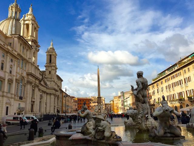 Рим за 3 дня, что посмотреть в Риме, Рим маршруты прогулок, что посмотреть в Риме, площадь навона рим