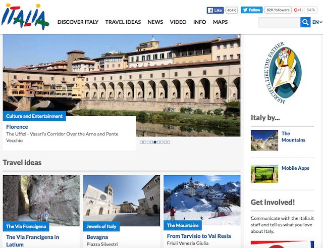 итальянский портал о туризме
