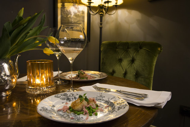 ресторан отеля The Gentleman of Verona il salotto bistro