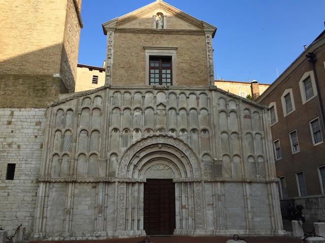 Фото церкви Санта Мариа делла Пьяцца в городе Анкона, Марке