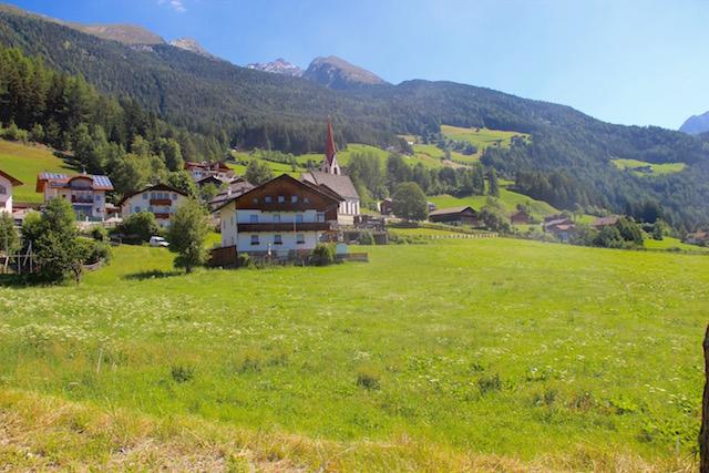 Кампо Турес, вид на Альпы