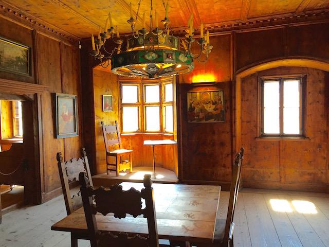 Комната капитана в замке Турес, Южный Тироль, Италия
