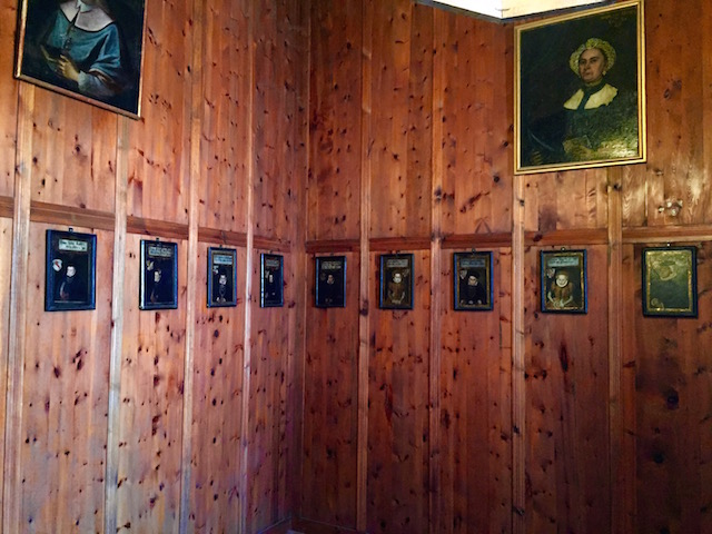 комната частной школы, Библиотека, Замок Турес, Южный Тироль, Италия