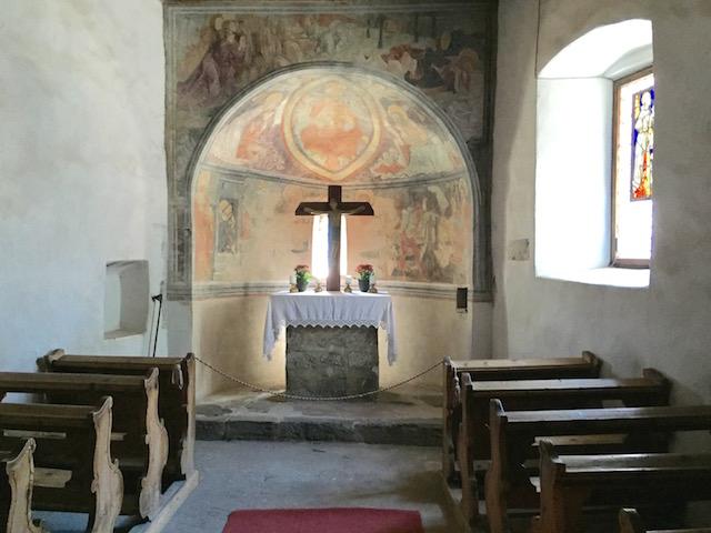 Часовня, Библиотека, Замок Турес, Южный Тироль, Италия