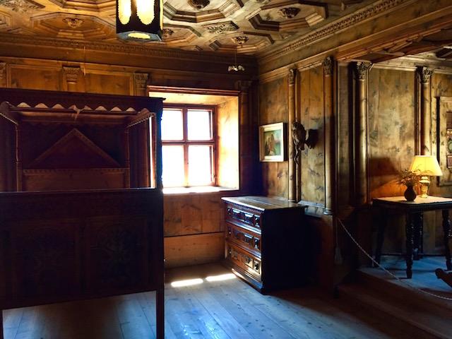 Комната духов, Библиотека, Замок Турес, Южный Тироль, Италия