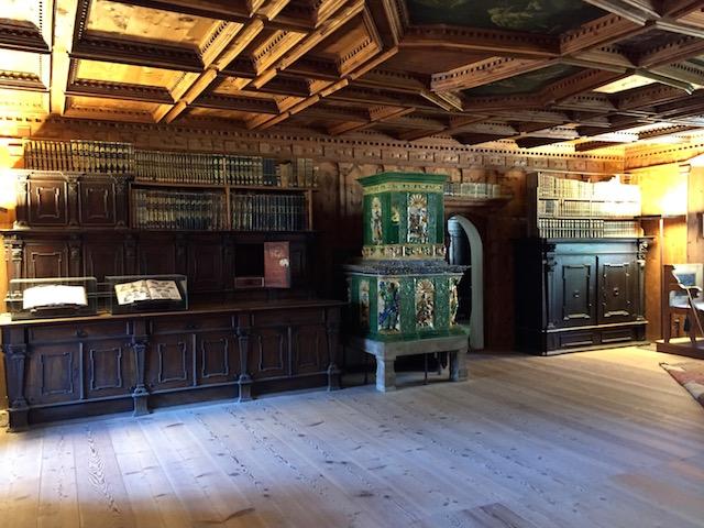 Библиотека, Замок Турес, Южный Тироль, Италия