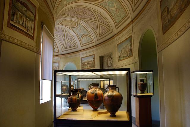 один из залов египетского музея в Ватикане