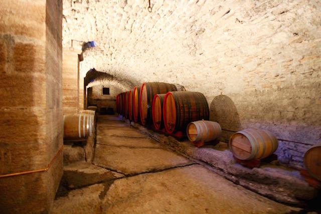 винные погрубы в замке Буонконсильо
