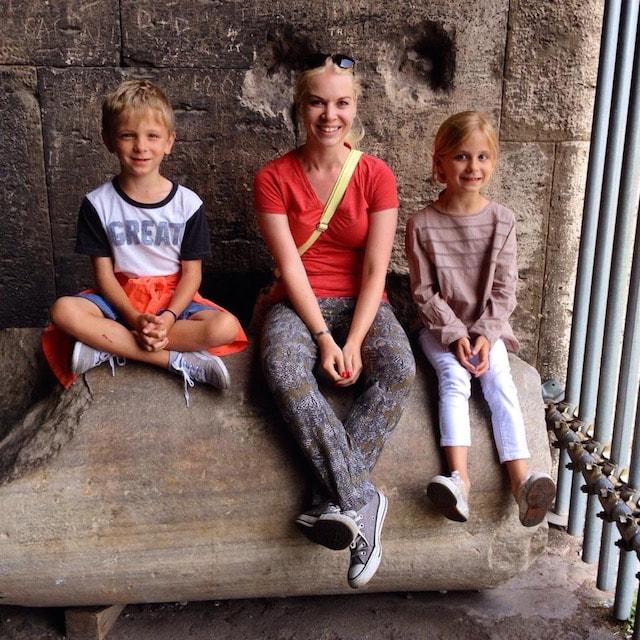 на фото гид в Риме и Ватикане
