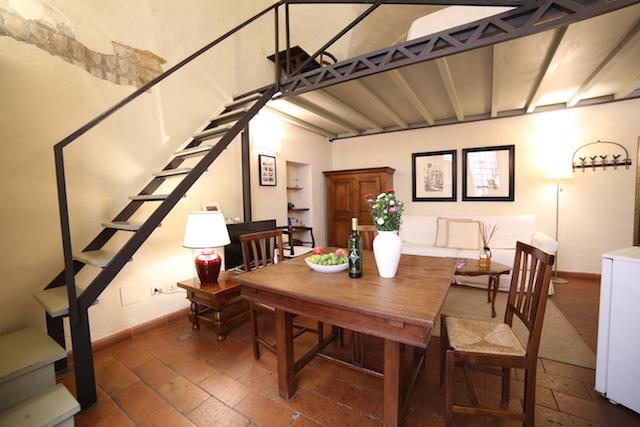 на фото гостиная апартаментов Бьянка Капелло во Флоренции