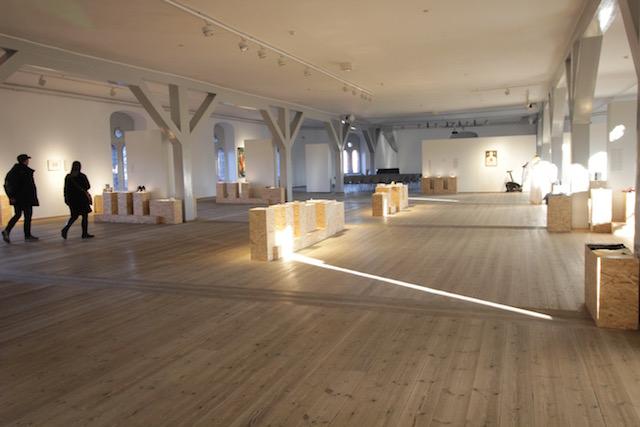 На фото выставочный зал в Круглой пашне в Копенгагене