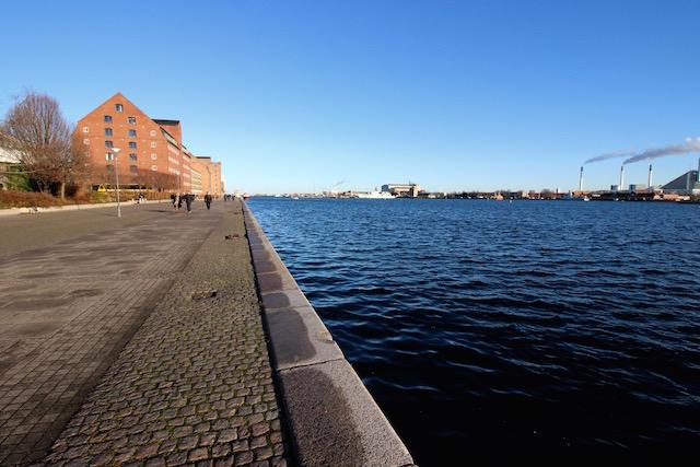 Набережная в Копенгагене