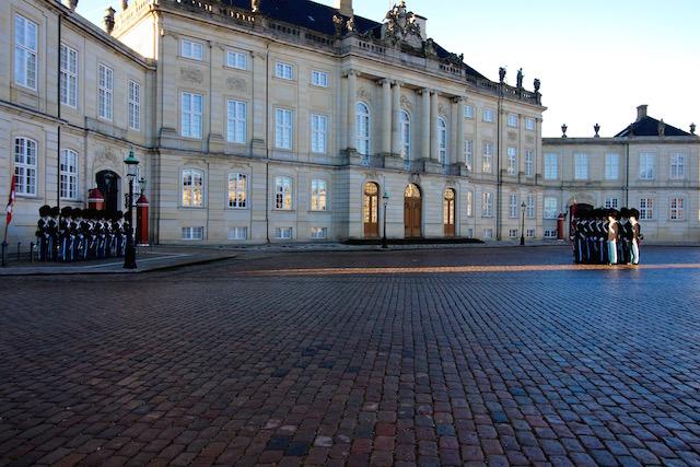 Королевский дворец в Копенгагене