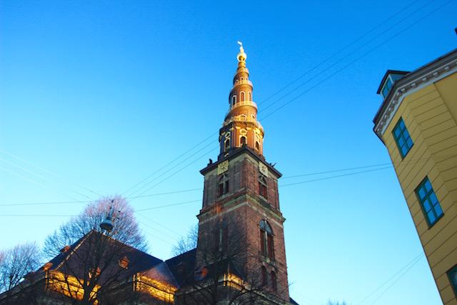 Церковь Христа Спасителя Копенгаген