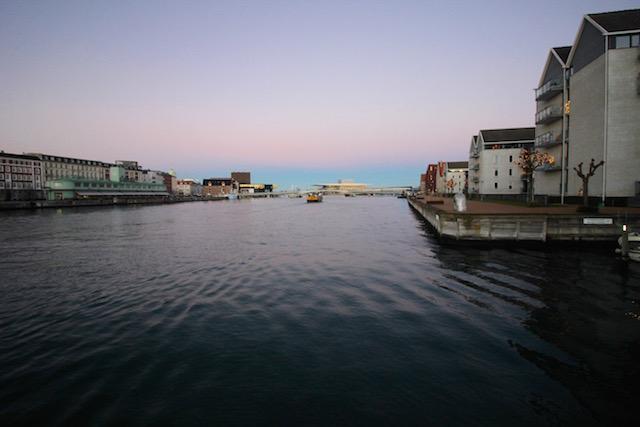 Закат в Копенгагене