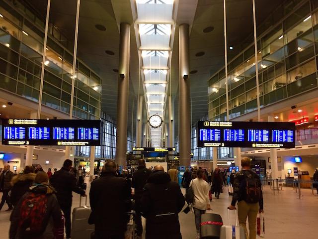 Аэропорт в Копенгагене