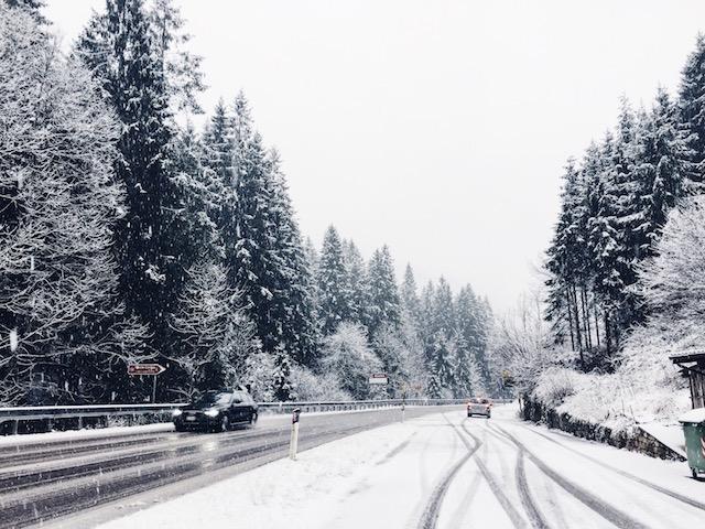 А зимой здесь можно встретить вот такие пейзажи!