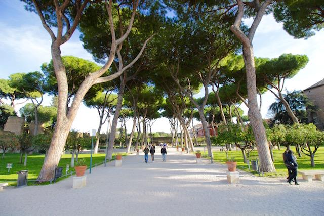 Сад апельсинов в Риме