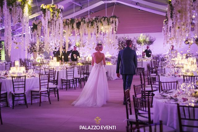 на фото дочь Аль Бано во время своей свадьбы