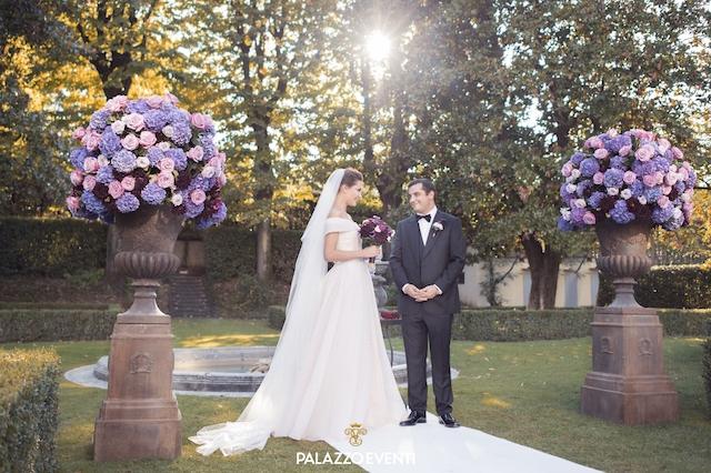 на фото одна из свадеб в Италии, которая была организована агентством PalazzoEventi