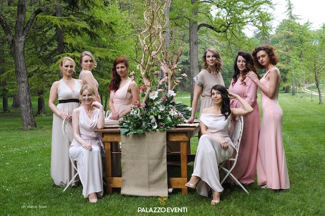 на фото команда агенства по организации свадеб в Италии PalazzoEventi