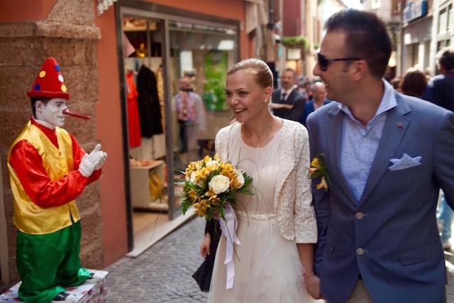 свадьба в Италии на озере Гарда