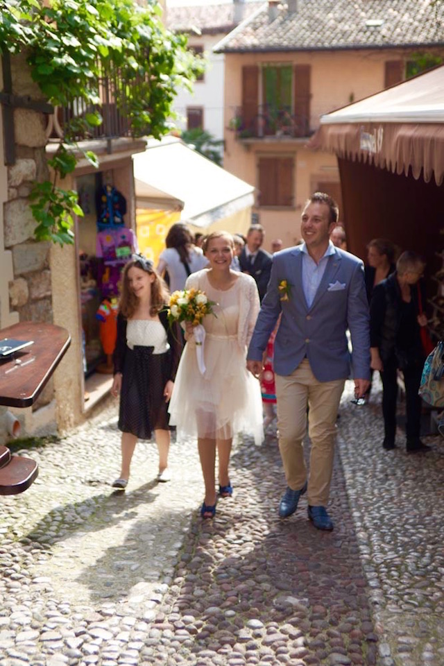 свадьба в Мальчезине на озере Гарда