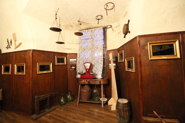 Музей эногастрономии в музее замка в Компьяно