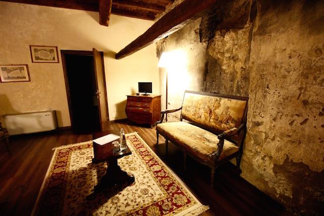 отель в замке Компьяно в Италии