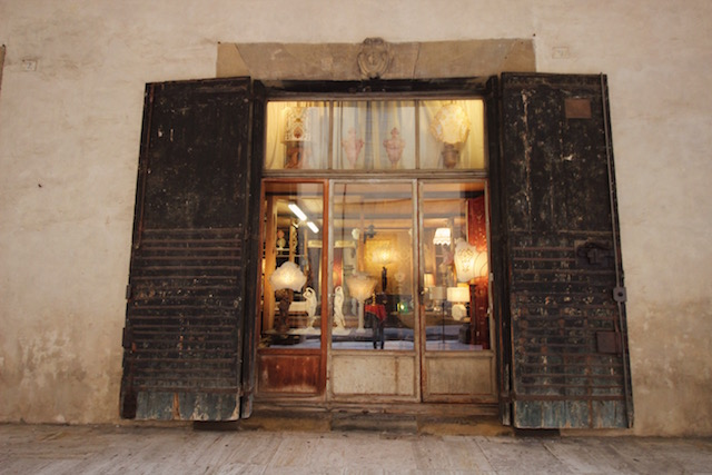 Ареццо. Антикварный рынок