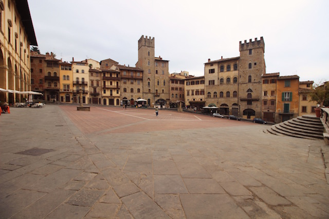 Ареццо. Главная площадь