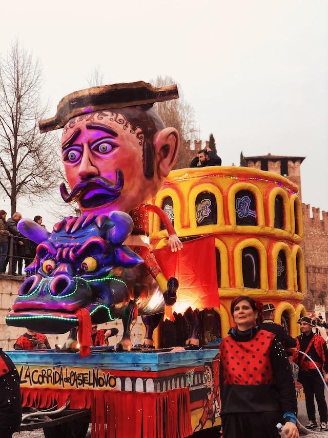 Карнавалы в Италии. Верона.