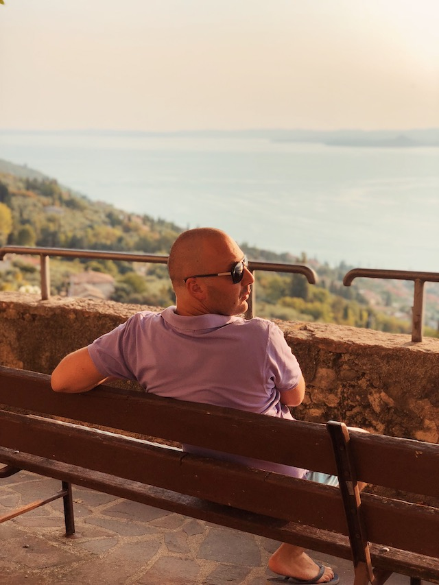 Вид на озеро Гарда из Альбизано