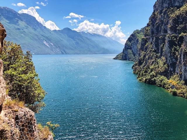 тропа понале на озере Гарда