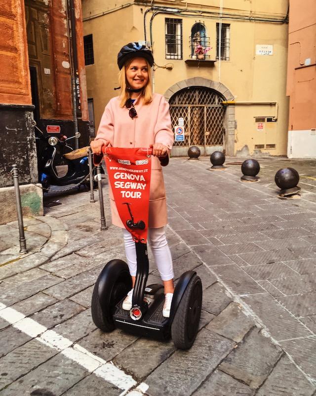 Сегвей тур в Генуе