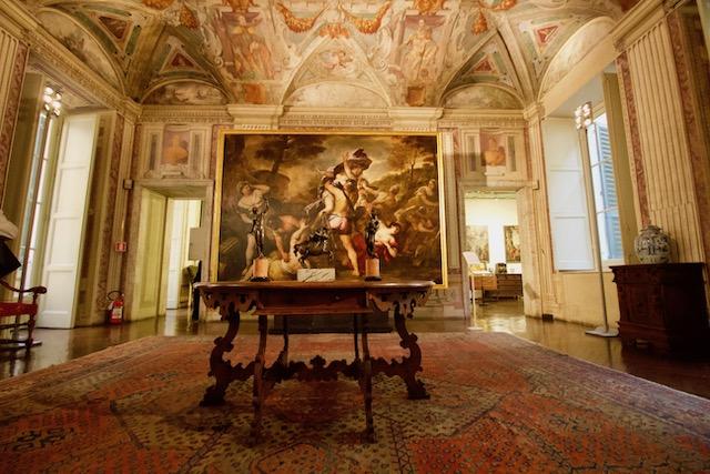 Национлальная галерея во дворце Спинола в Генуе