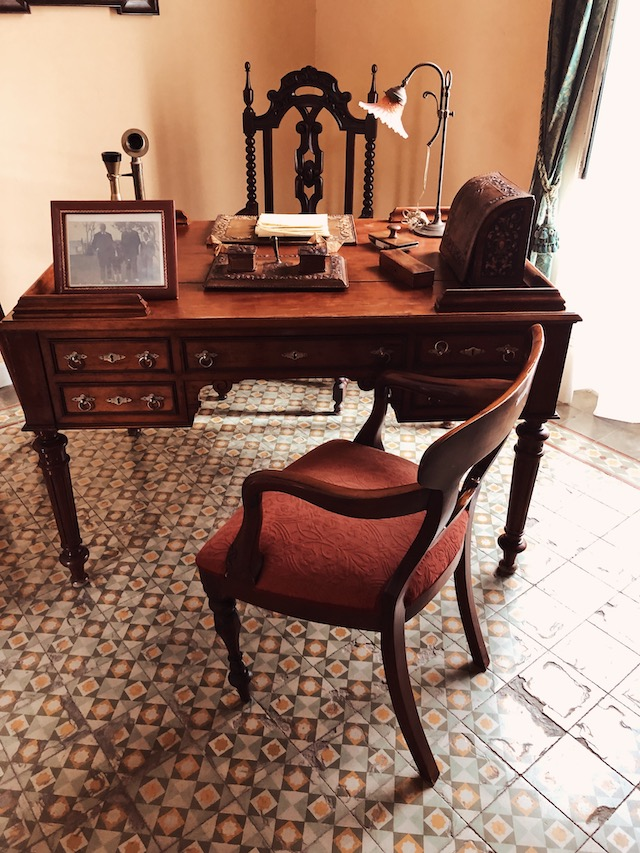 На фото одна из комнат в доме-музее Мигеля де Унамуно на острове Фуэртевентура