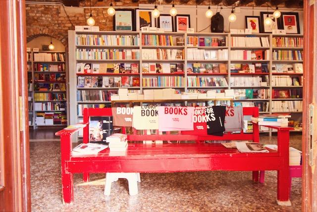 Книжный магазин в Венеции