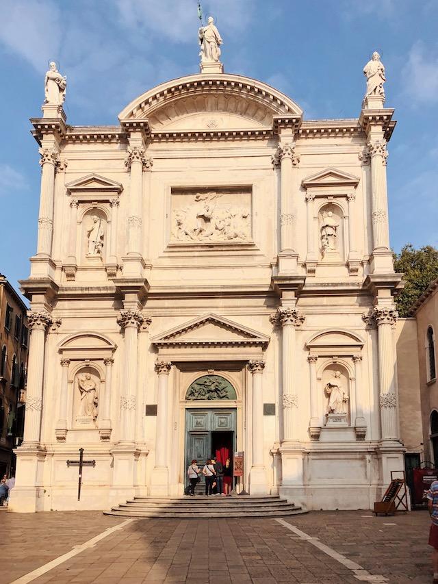 Церковь Сан Рокко в Венеции