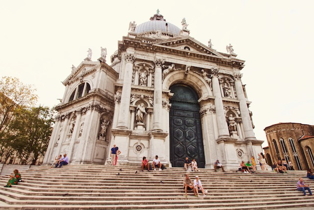 Церковь Санта Мария делла Салюте в Венеции