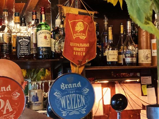 Старинный бар в центре Амстердама