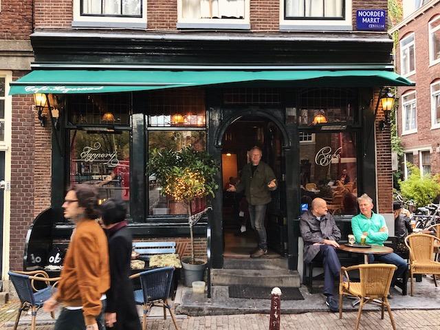 Старинный бар в центре Амстердама рестораны амстердама Рестораны в  Амстердаме.Где поесть вкусно и недорого? cafe hegeraad amsterdam