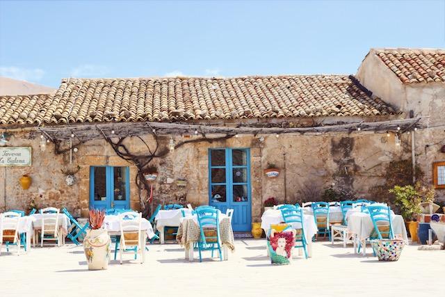 Рыбацкая деревушка Марцамеми на Сицилии