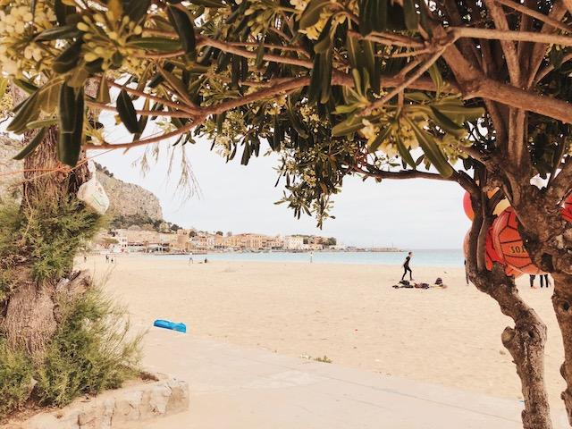 Пляжи палермо монделло