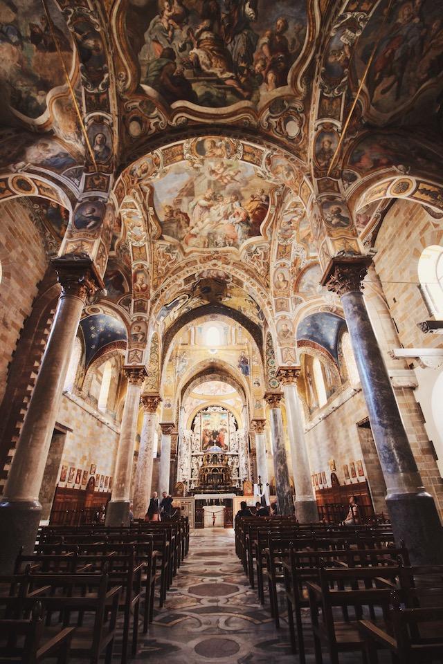 Церковь Ла Марторана Палермо Сицилия Италия